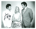 Annette Andre & Kenneth Cope  -  Photograph. This is an original autograph and not a copy. 10217